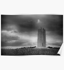 Canadian National War Memorial - Vimy Ridge Poster