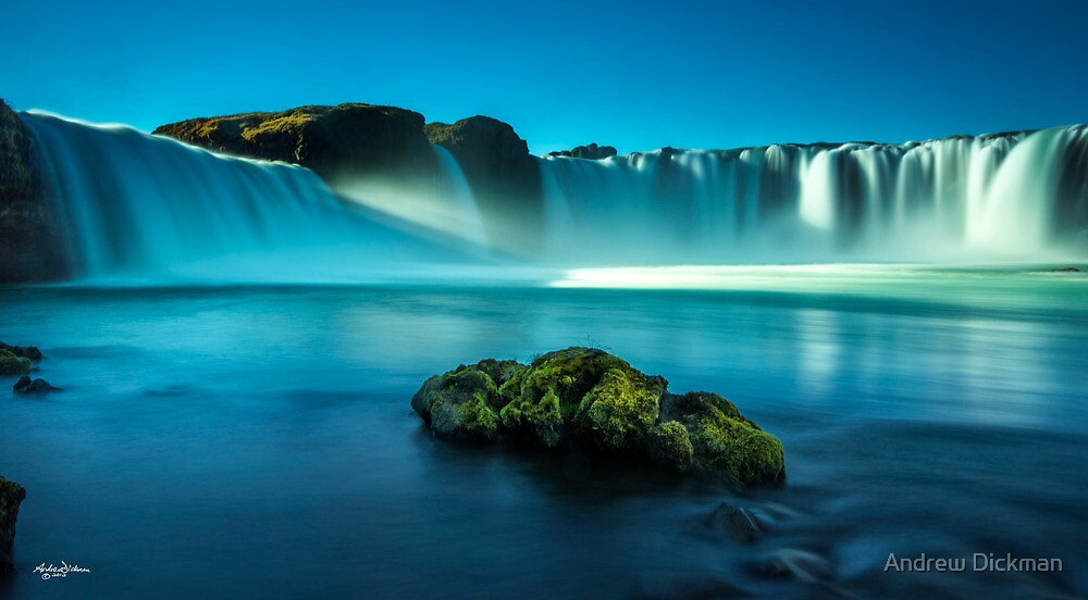 Waterfall - Godafoss by Andrew Dickman