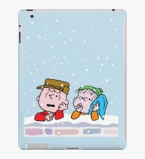 Good Grief it's Christmas Charlie Brown iPad Case/Skin