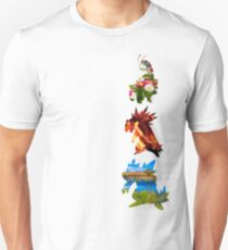 The evolved starters (johto) T-Shirt