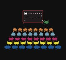 Retro T-Shirt - Space Invaders  | Unisex T-Shirt