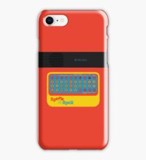 Vintage Look Speak & Spell Retro Geek Gadget iPhone Case/Skin