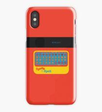 Vintage Look Speak & Spell Retro Geek Gadget iPhone Case/Skin