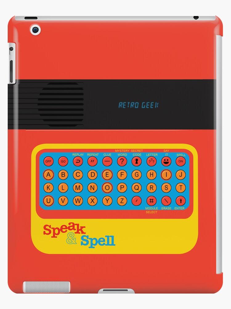 Vintage Look Speak & Spell Retro Geek Gadget by VintageSpirit