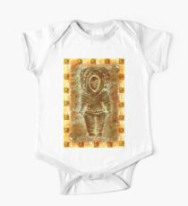 latin Sculpture One Piece - Short Sleeve