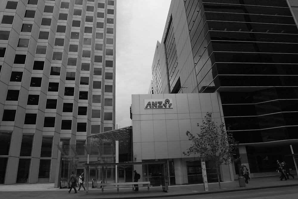 ANZ Bank St Georges Terrace Perth by Andrew  Makowiecki