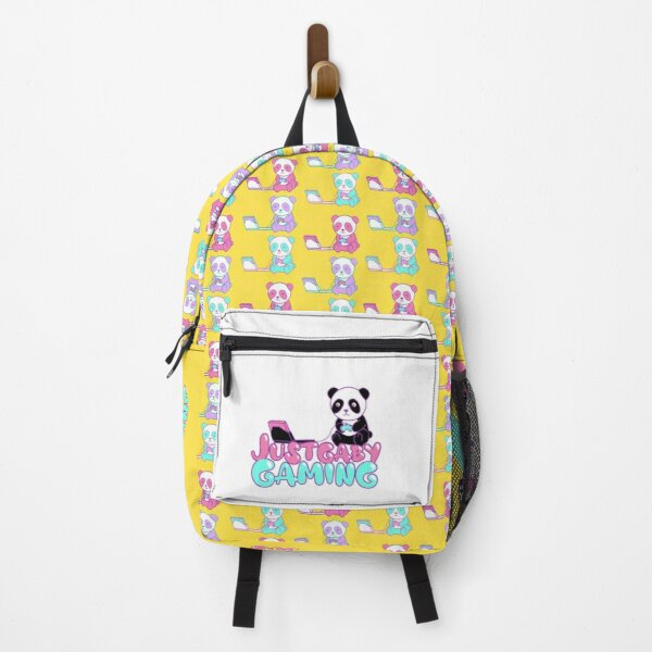 Just Gaby Gaming Yellow Backpack  Backpack
