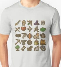 Runescape Skills Unisex T-Shirt