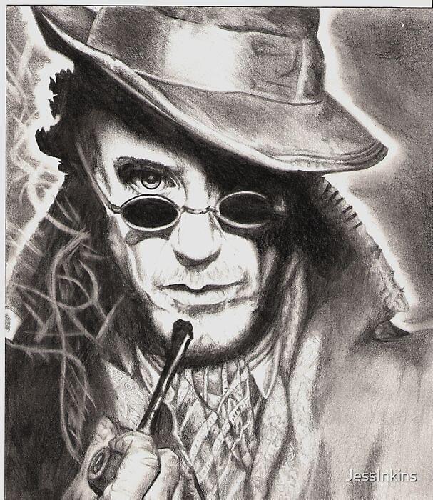 Sherlock Holmes by JessInkins