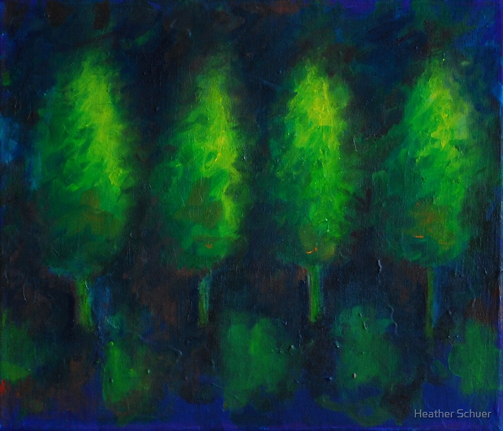 Trees by Heather Schuer