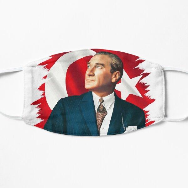Mustafa Kemal Ataturk Flat Mask