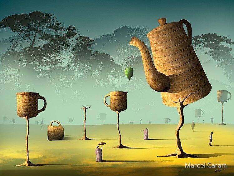 Campo de Café. by Marcel Caram