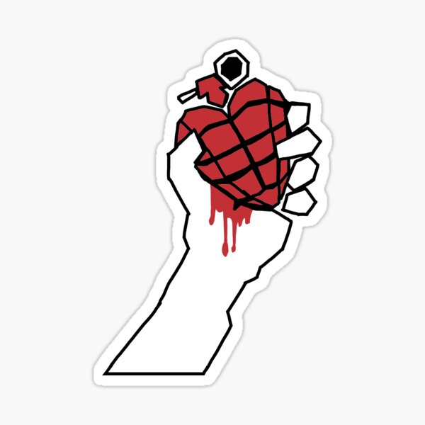 American Idiot Green Day Hand Sticker