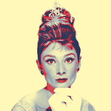 Audrey Hepburn in  Breakfast at Tiffany's by artcinemagaller