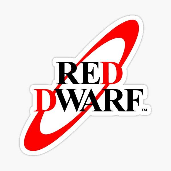 Red Dwarf - Logo Sticker