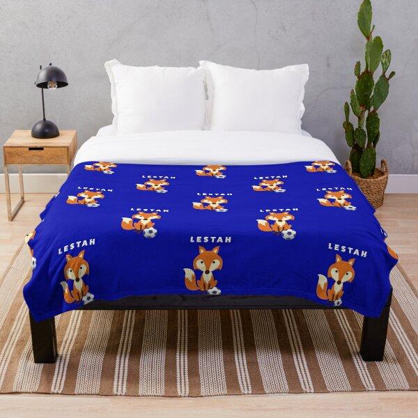 Lestah - Foxes - Leicester Throw Blanket