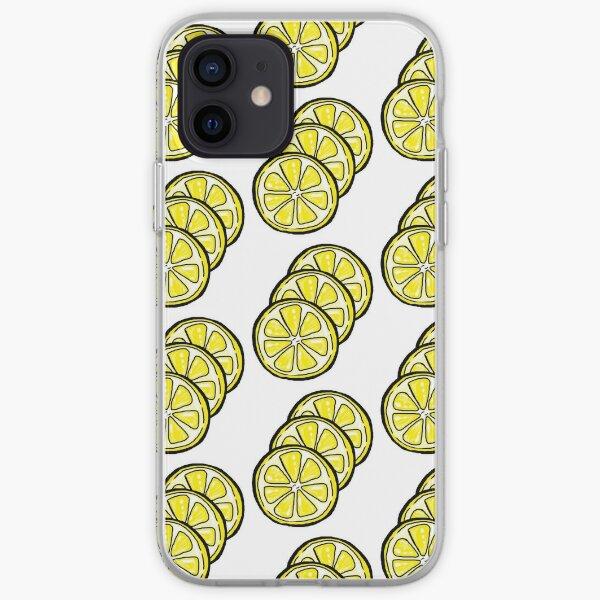 Lemon Slices iPhone Soft Case