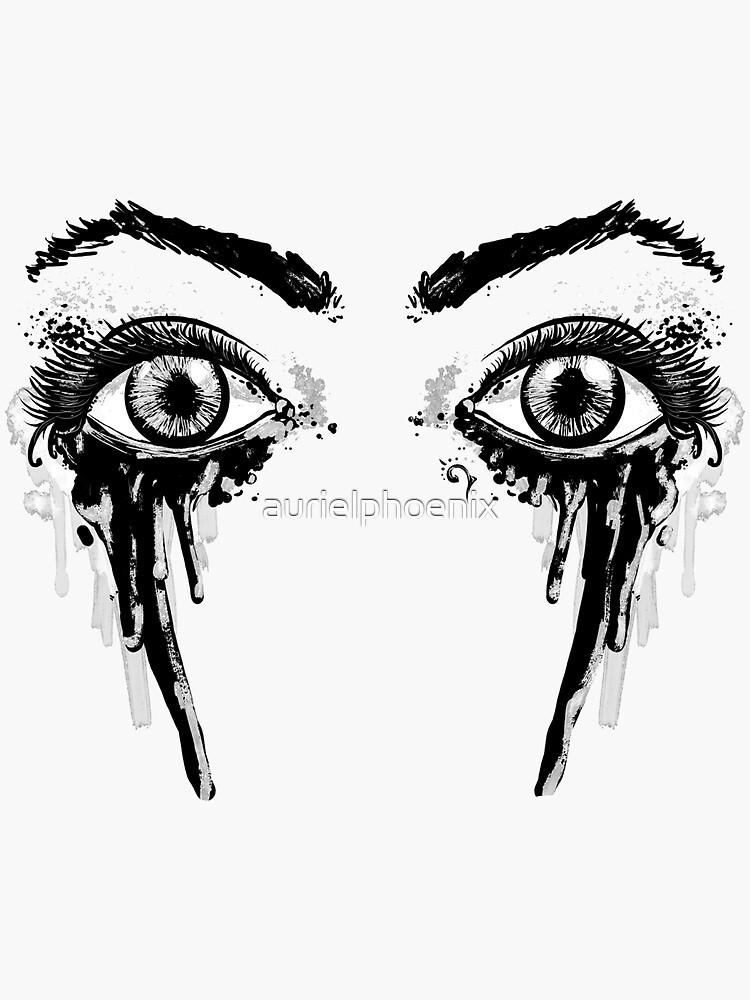 Dark Fairy Eyes by aurielphoenix