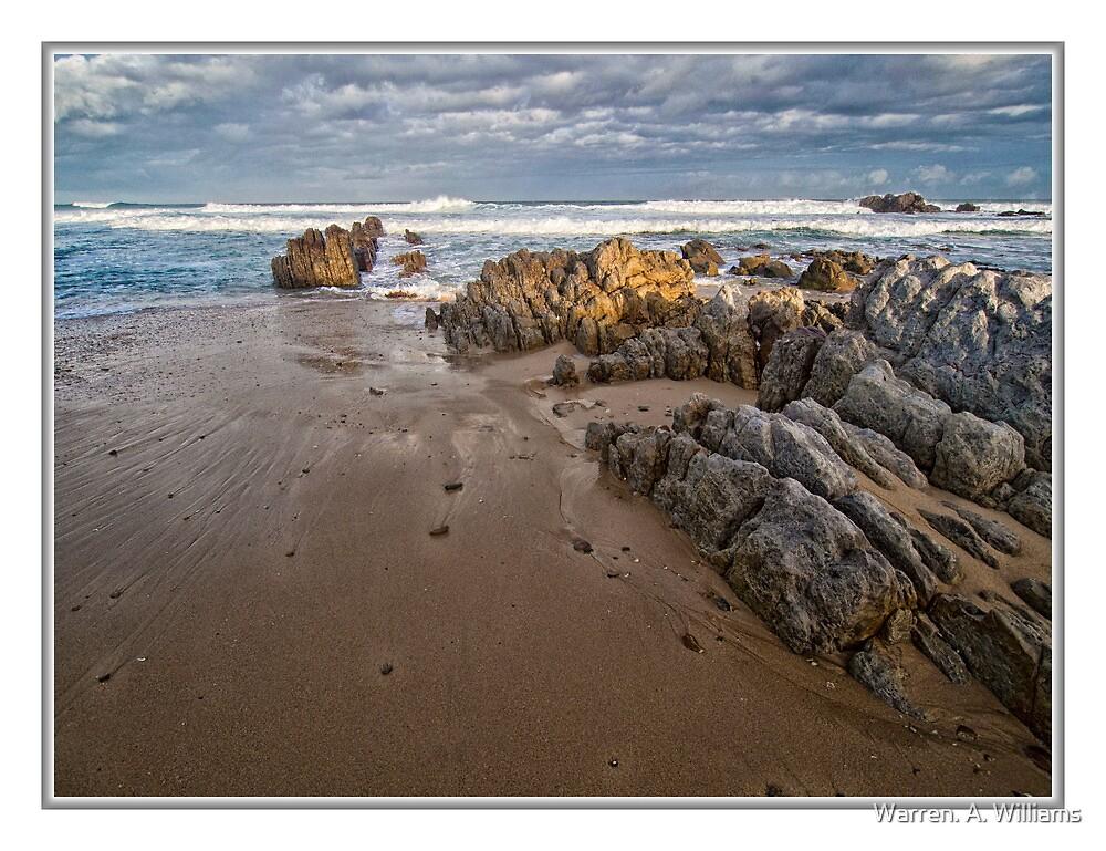 Rocks so Rugged by Warren. A. Williams