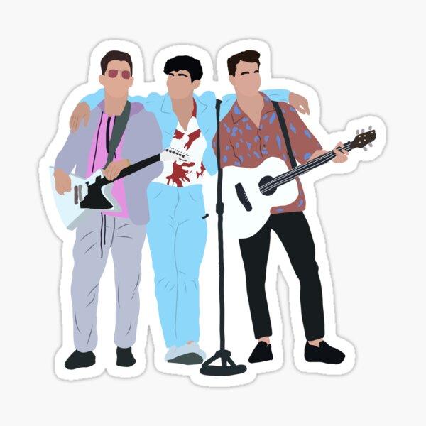 Jonas Brothers Performing  Sticker