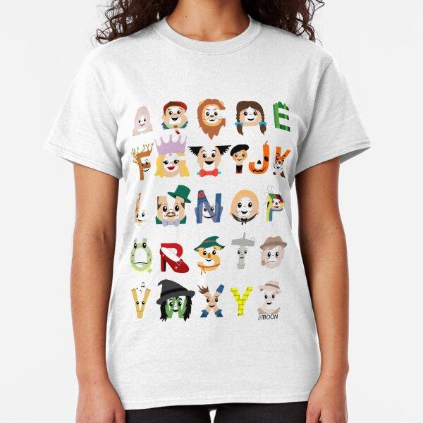 Oz-abet (an Oz Alphabet) Classic T-Shirt