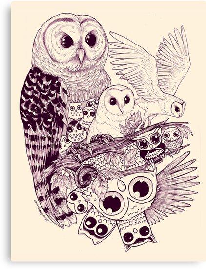 Owl Movement by AustinJames