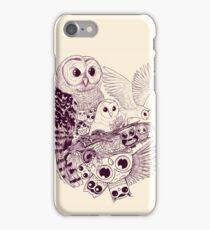 Owl Movement iPhone Case/Skin