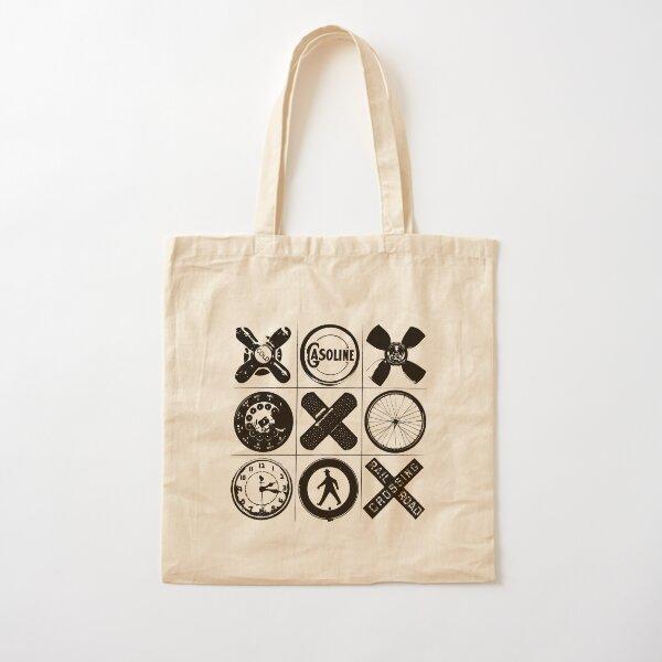 HIP TAC TOE Cotton Tote Bag