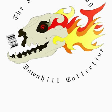 The Interested Dog Downhill Collective Skull by twade76