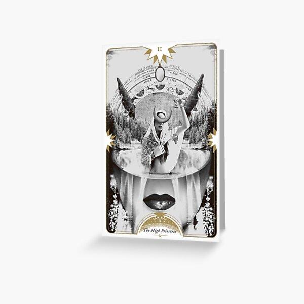 Fig II. - The High Priestess Greeting Card