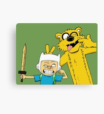 Calvin time Canvas Print