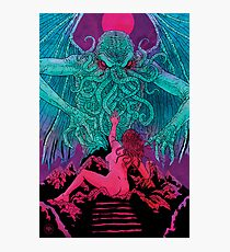 Cthulhu Blues Photographic Print