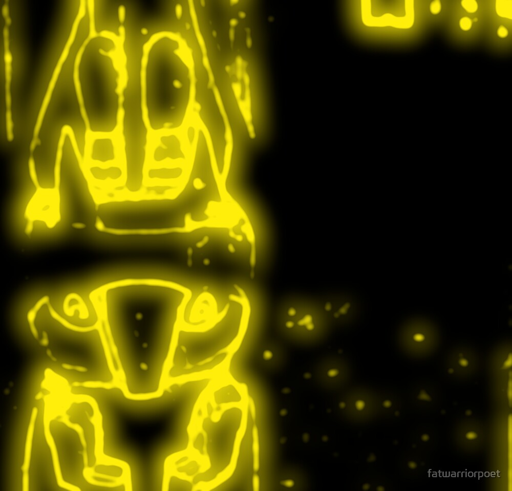 The Neon Green Totem by Jeremy Jorgensen