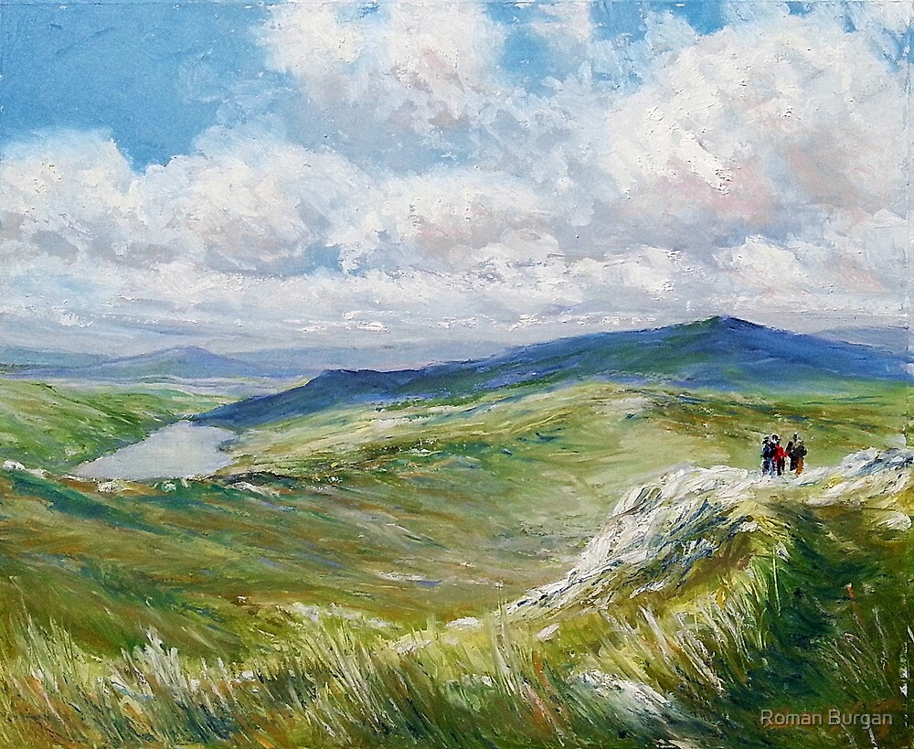 View from Carrantoohill by Roman Burgan