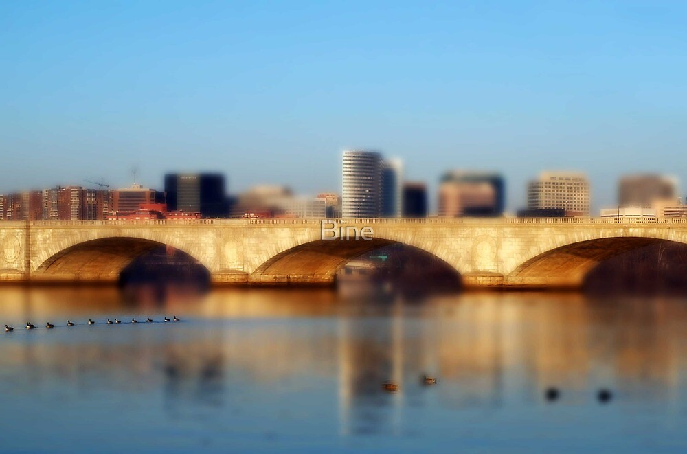 Memorial Bridge, Arlington VA by Bine