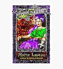 New Orleans Voodoo Queen Marie Laveau Photographic Print