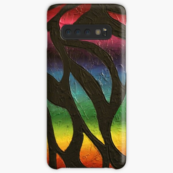 Fire Flame Painting Samsung Galaxy Snap Case