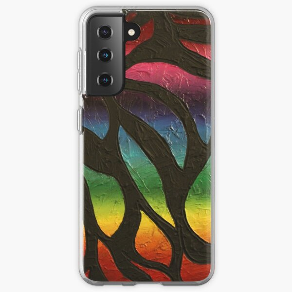 Fire Flame Painting Samsung Galaxy Soft Case