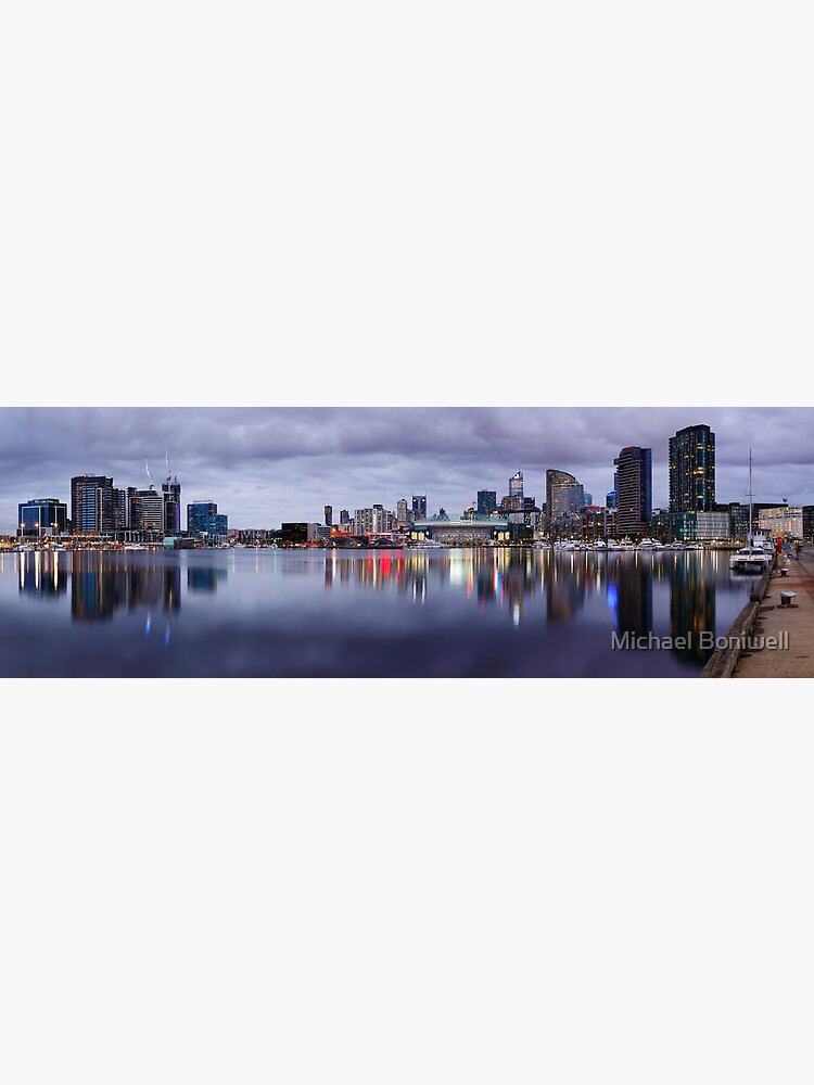 Docklands Evening, Melbourne, Victoria, Australia by Chockstone