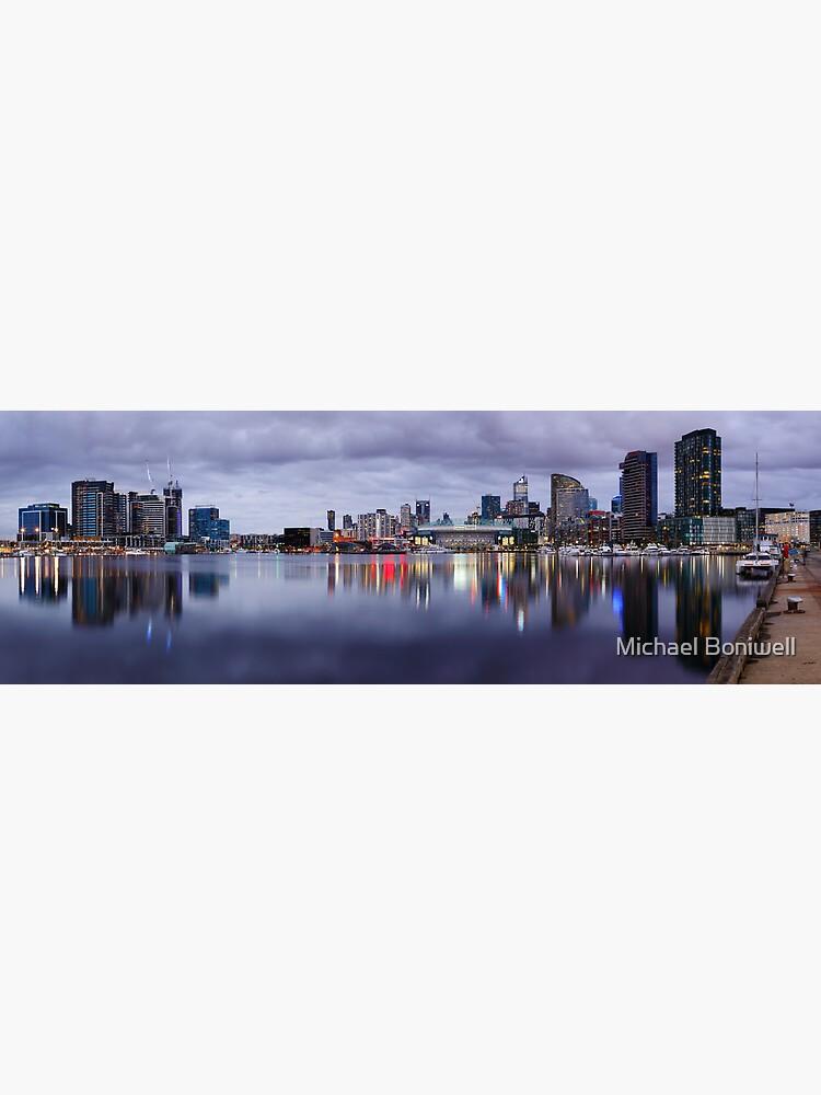 Docklands Evening, Melbourne, Victoria, Australia by Chockstone