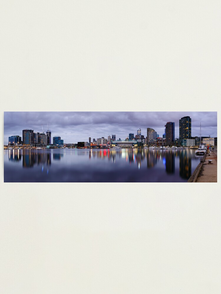 Alternate view of Docklands Evening, Melbourne, Victoria, Australia Photographic Print