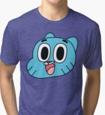 Gum. Tri-blend T-Shirt
