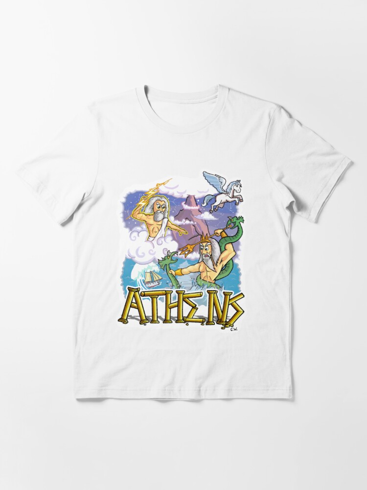 Alternate view of Ancient Athens Essential T-Shirt