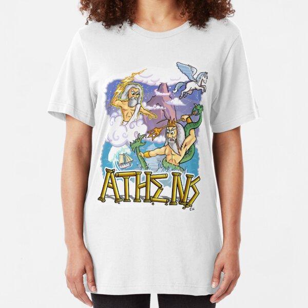 Ancient Athens Slim Fit T-Shirt