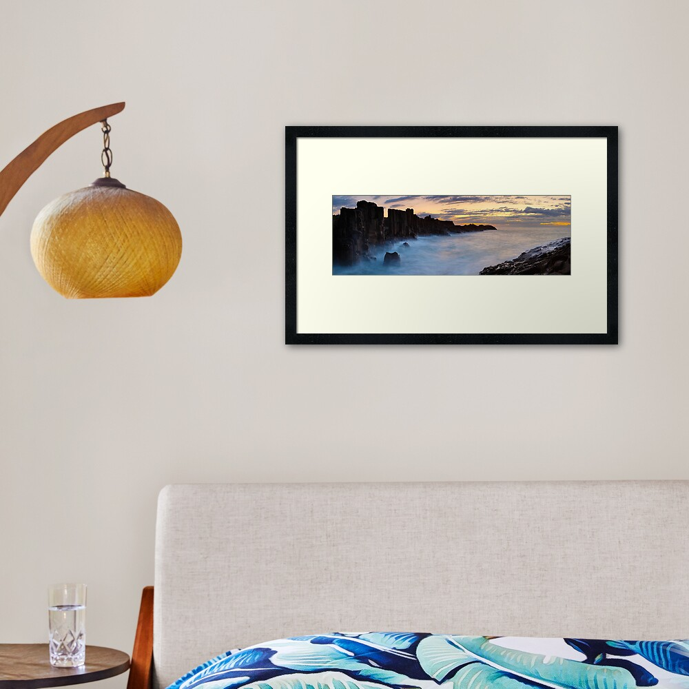 Bombo Headland, New South Wales, Australia Framed Art Print