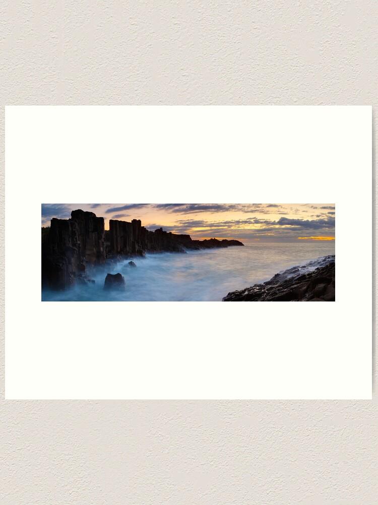Alternate view of Bombo Headland, New South Wales, Australia Art Print