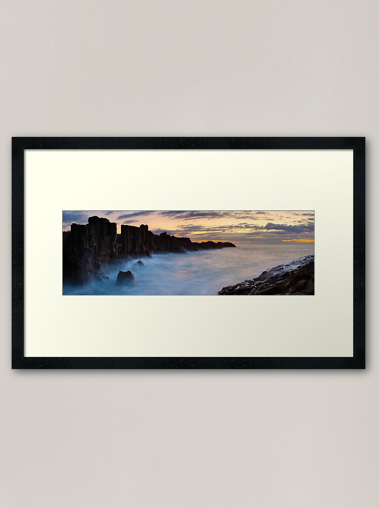 Alternate view of Bombo Headland, New South Wales, Australia Framed Art Print