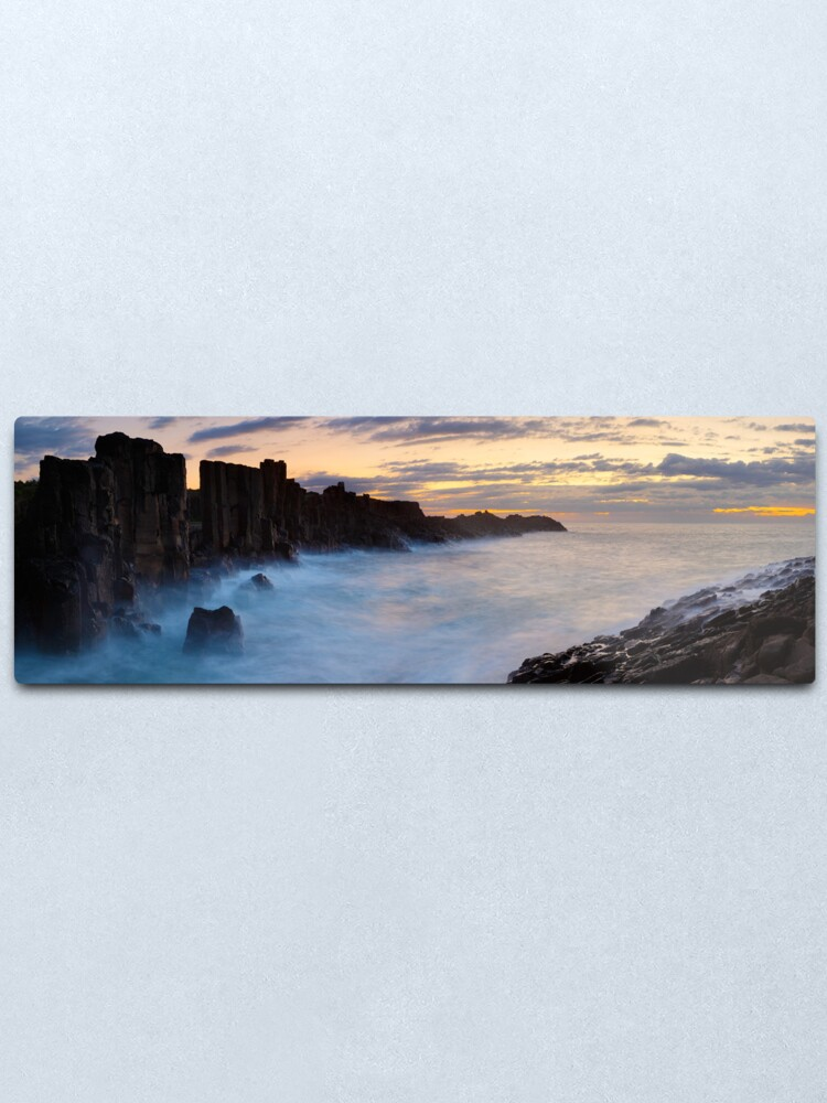Alternate view of Bombo Headland, New South Wales, Australia Metal Print