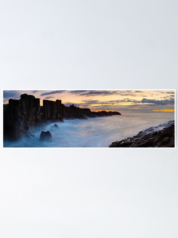 Alternate view of Bombo Headland, New South Wales, Australia Poster