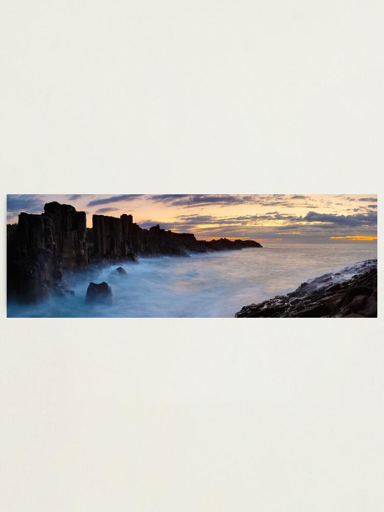 Alternate view of Bombo Headland, New South Wales, Australia Photographic Print